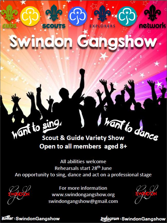 Swindon Gangshow 2015